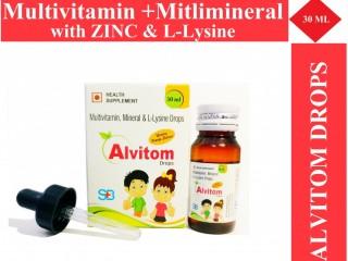 Multivitamin Alvitom Drops For Kids