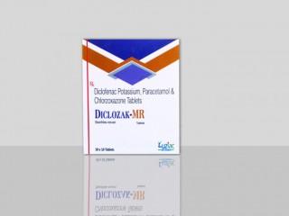 Diclofenac Potassium Paracetamol & Chlorzoxazone Tablet