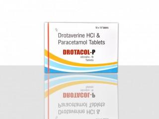 Drotaverine Hydrochloride Paracetamol Tablet