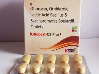 Oflox Ornidazole with lactic acid Tablet