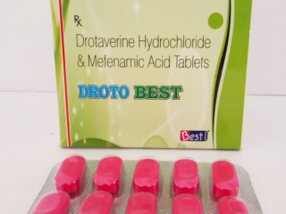 DROTAVERINE Hydrachloride & MEFENAMIC Acid Tablets