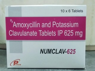 Amoxicillin and Potassium Clavulanate Tablets IP 625 mg Franchise