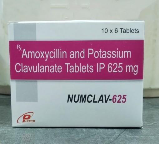 Amoxicillin and Potassium Clavulanate Tablets IP 625 mg Franchise 1