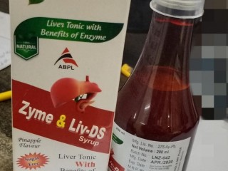 ZYME & LIV-DS SYRUP LIVER TONIC WITH BENEFITS OF ENZYME