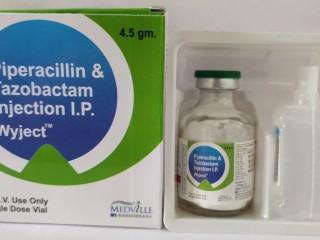 PIPERACILLIN 4 GM+TAZOBACTAM SODIUM 500 MG