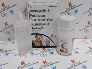 Amoxycillin & pottasium clavulanate oral suspension