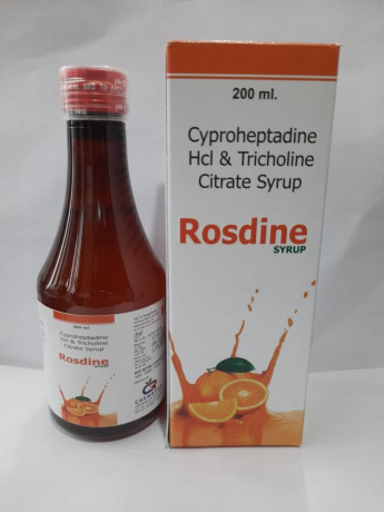 CYPROHEPTADINE Hcl & TRICHOLINE CITRATE SYRUP 1