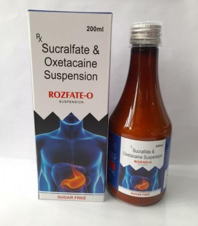 SUCRALFATE & OXETACAINE SUSPEMSION 1