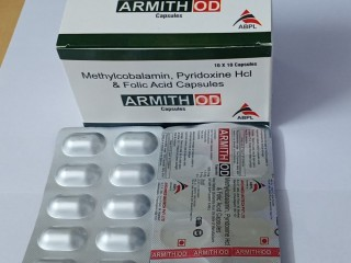 ARMITH-OD (Methylcobalamin Pyridoxine Hcl and Folic Acid Capsules) )
