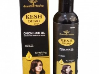 KESH- DHARI........ An Ayurvedic Onion Hair Oil for Longer, Stronger, Healthy & Shiny Hair.