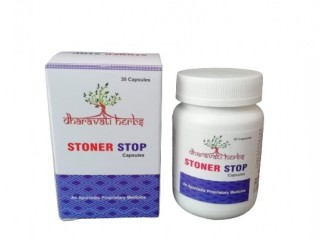 STONER STOP .......A Herbal Stone Crusher & Alkalizer