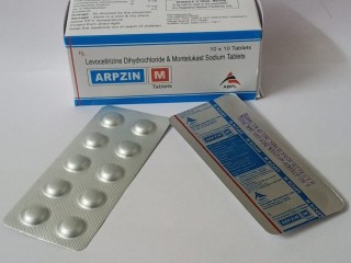 ARPZIN-M (Levocetirizine Dihydrochloride And Montelukast Sodium Tablets)