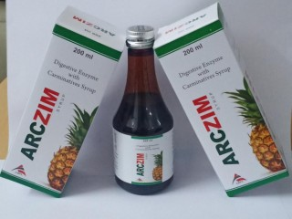 ARCZIM SYRUP (DIGESTIVE ENZYME WITH CARMINATIVES)