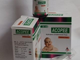 ACOPEE (MULTIVITAMIN & MULTIMINERAL DROPS)