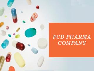 PCD Pharma Company in Manimajra