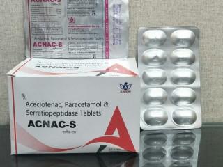 ACECLOFENAC +PARACETAMOL+ SERRATIOPEPTIDASE