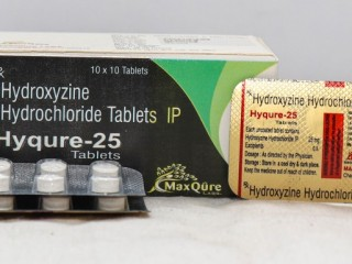 HYDROXYZINE HYDROCHLORIDE IP 25 MG TABLET