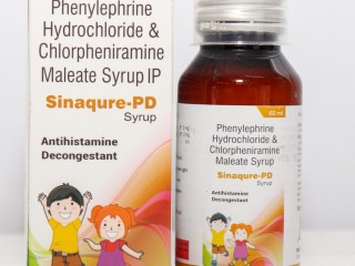 PHENYLEPHERINE HCL IP 5 MG + CHLORPHENIRAMINE MALEATE 2 MG
