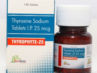 Thyroxine Sodium IP Eq To Anhydrous Thyroxine sodium 25 Mcg