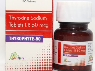 Thyroxine Sodium IP Eq To Anhydrous Thyroxine sodium 50 Mcg