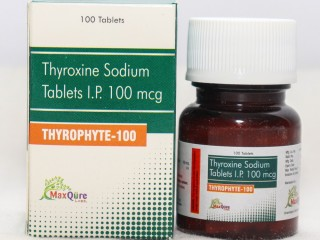 Thyroxine Sodium IP Eq To Anhydrous Thyroxine sodium 100 Mcg