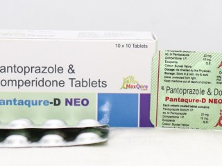 Pantoprazole Sodium IP Eq To Pantoprazole 20 mg+Domperidone IP 10 Mg Tablets