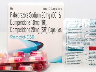 Rabeprazole 20 Mg + Domperidone 10Mg (IR)+ Domperidone 20 Mg (SR) Capsules