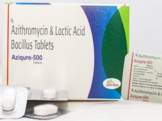 Azithromycin Dihydrate IP Eq. to Azithromycin 500 Mg +Lactic Acid Bacillus 60 Million Spores Tablets