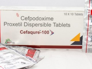 Cefpodoxime Proxetil IP Eq To Cefpodoxime 100 Mg Dispersible Tablets