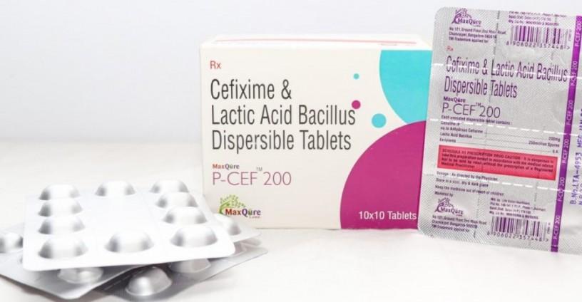 Cefixime IP 200 Mg + Lactic Acid Bacillus 250 Million Spores 1