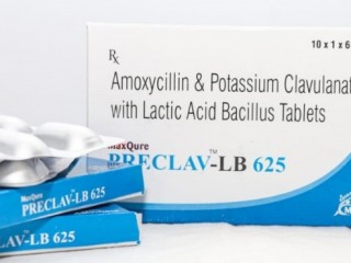 Amoxycillin 500 Mg +Potassium Clavulanate 125 Mg + Lactic Acid Bacillus 60 Million Spores