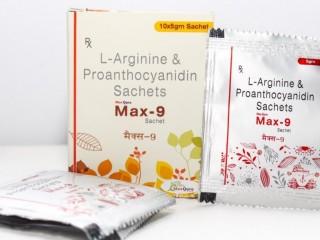 L-Arginine IP 3 gm+ Proanthocyanidin 75 mg