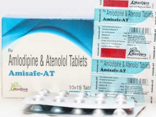 Amlodipine Besylate IP Eq To Amlodipine 5 Mg + Atenolol IP 50 Mg Tablets
