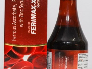 Ferrous Ascorbate 30 Mg+Folic Acid +Zinc Sulphate Monohydrate Eq To Zinc +Energy 6 Kcal+Carbohydrate +Protein 0 g+fat 0 g Syrup