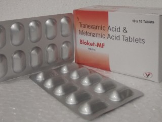 Tranexamic Acid 500 mg +Mefenamic Acid 250 mg
