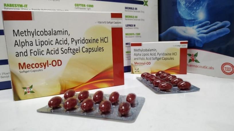 Methylcobalamin, Alpha Lipoic Acid, Pyridoxine Hcl and Folic Acid Softgel Capsule 1