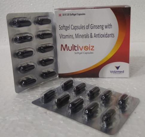 Ginseng+Antioxident+Minerals+Multivitamins Soft Gel Capsules 1