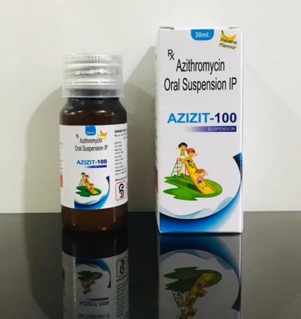 AZITHROMYCIN 100 MG SUSPENSION 1