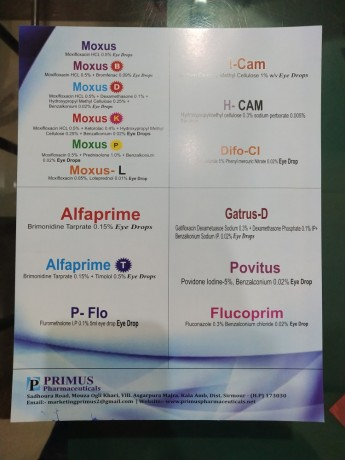 PCD PHARMA FRANCHISE FOR OPTHO PRODUCTS /EYEDROPS /EYE CARE DIVISON 1