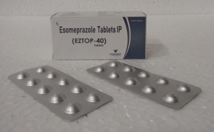 Esomeprazole 40 mg tablets, 1