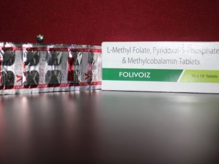Melcobalamine 1500 mcg + L-methylfolate 1mg+Pyridoxial 5 Phosphate .5mg(Strip pack & Chewable Table