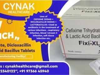 CEFIXIME 200MG + DICLOXACILLIN 500MG + LACTOBACILLUS