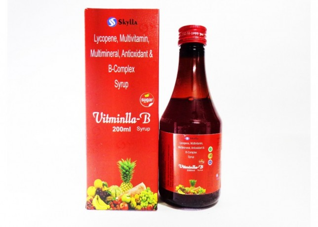 Lycopene, Multivitamin Multimineral, Antioxidant & B-Complex syrup 1