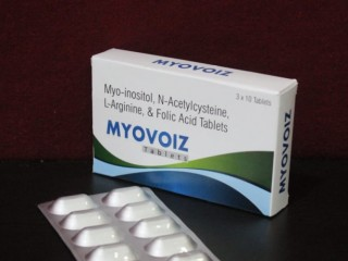 Myo-Inositol 1000 mg+N Acetylcysteine 300 mg + Folic Acid 1.5 mg + L-Arginine 100 mg