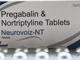 Pregabalin 75mg + Nortryptline 10 mg (Strip)