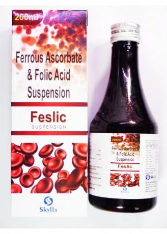 Ferrous Ascorbate & Folic acid suspension 1