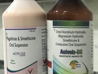Dried Aluminum Hydroxide 600+Magnesium 300+Simethicone 25 mg+oxetacaine 10m