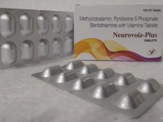 Methylcobalamine 1500 mcg+Ala 200 mg+Benfothiamine 100 mg+Folic acid 1.5 mg+B6 3 mg+Biotin 5mg