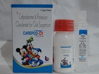CEFPODOXIMI + CLAVULANIC ACID SUSP