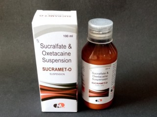 SUCRALFATE 1GM + OXETACAINE 20 MG/ 10ML